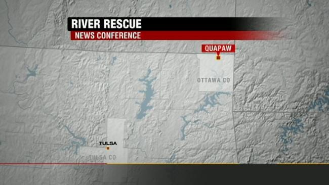 WEB EXTRA: Spring River Rescue News Conference