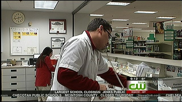 Green Country Pharmacies Slammed After Winter Storm