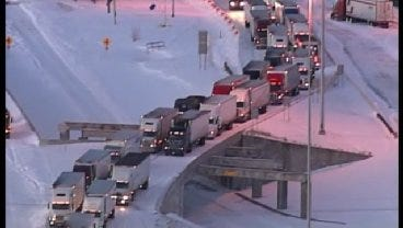 SkyNews 6: Wednesday Morning Look At Tulsa Area Highways