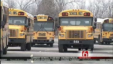 Tulsa Area Schools Close Ahead Of Winter Storm