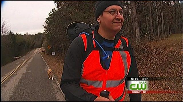 Oklahoma Man Hikes 850 Mile Long Trail Of Tears