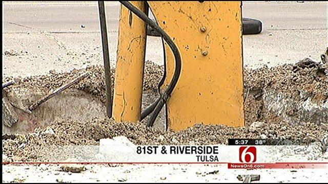 Water Main Break Closes River Spirit Casino In Tulsa
