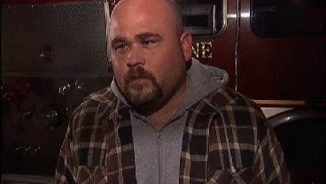 WEB EXTRA: Shawn Wright Talks About How He Rescued Man From Burning RV