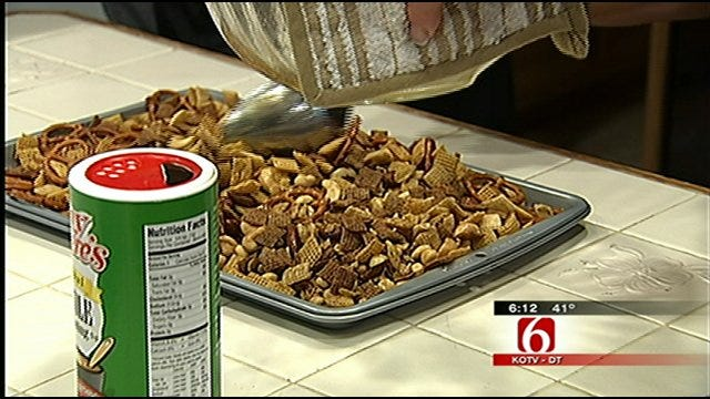 Tulsan Wins National 'Chex Mix' Contest