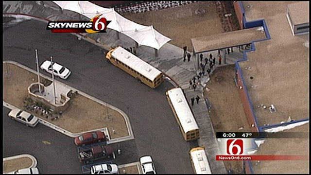 Tulsa Public Schools Conducts Large-Scale Safety Drill