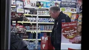 WEB EXTRA: Video From The Robbery Scene