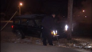 WEB EXTRA: Video From The End Of Sand Springs Police Chase