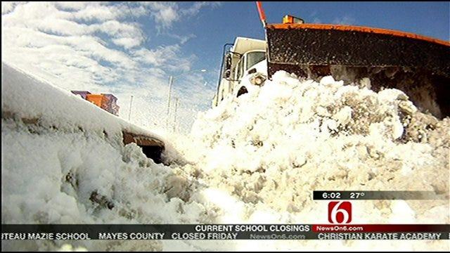 Tulsa Crews Continue To Salt City Streets