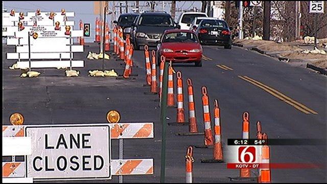 Tracing Tulsa's Orange Barrels