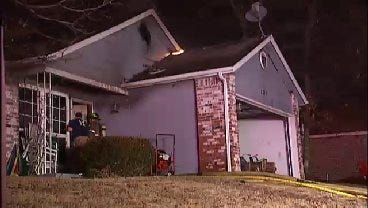 WEB EXTRA: Video From Scene Of Tulsa Vacant House Fire