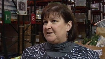 WEB EXTRA: Food Bank's Carol Foley Talks About The Meat Donation