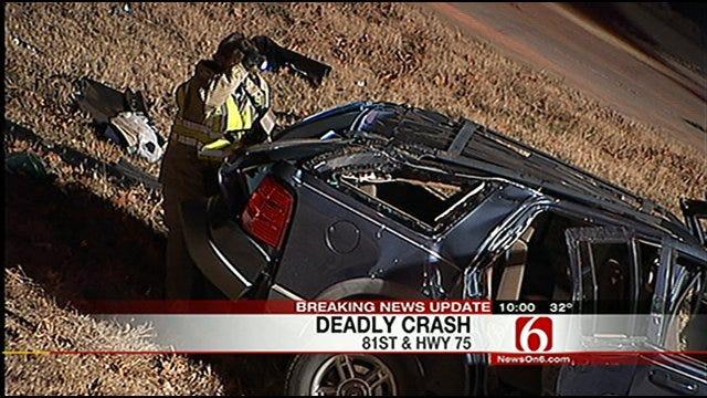 Toddler Killed In Tulsa Wreck