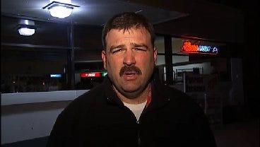 WEB EXTRA: Tulsa Police Sgt. Brandon Watkins Talks About Burglary Suspect Arrest