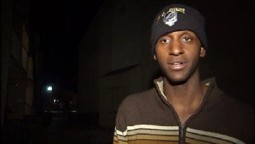 WEB EXTRA: Apartment Resident Talks About Scaring Off Robber With Shotgun