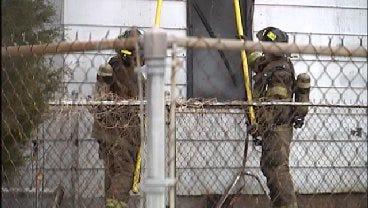 WEB EXTRA: Fire Destroys West Tulsa Home