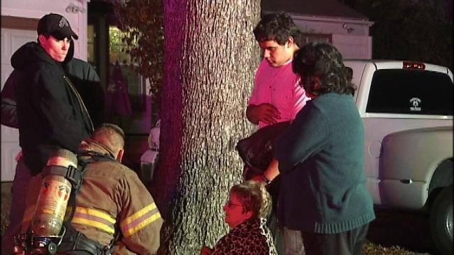 Tulsa House Fire Displaces Family