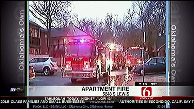 WEB EXTRA: Tulsa Fire Talks About Fire At Apartment Complex