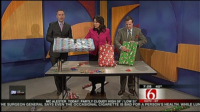 Decide Who Is The Six In The Morning Gift Wrapping Champion?