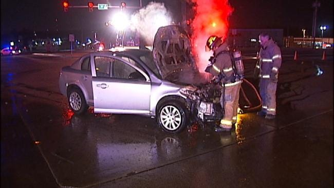 WEB EXTRA: Video From Scene Of 71st and Sheridan Wreck