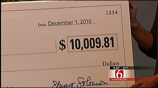City Of Tulsa Gets Another Energy Rebate From PSO