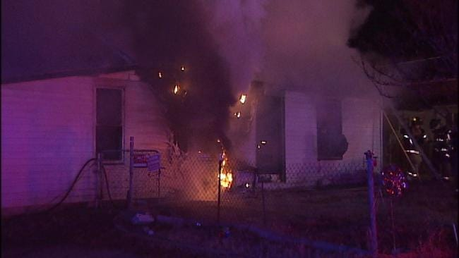 WEB EXTRA: Video From Scene Of 46th Street North House Fire
