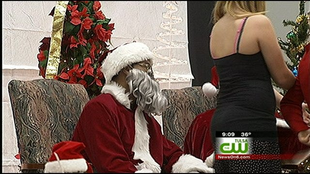 Santa and Mrs. Clause Make Early Visit To Tulsa