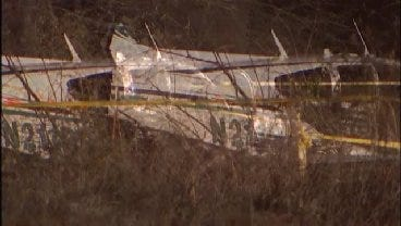 WEB EXTRA: Rogers County Plane Goes Down