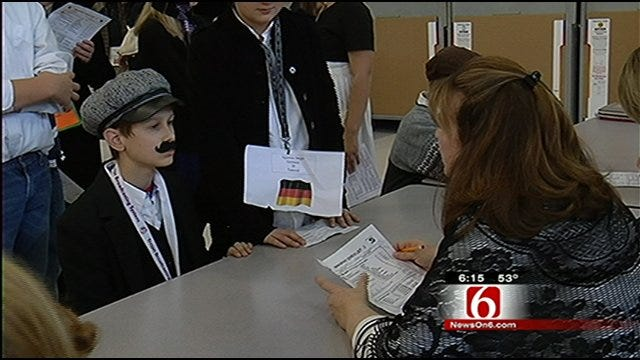 Project Teaches Jenks Students About Immigration To America