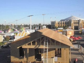 WEB EXTRA: Time Lapse Video Of Tulsa State Fair Of Habitat For Humanity House