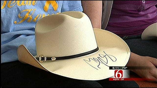 Cancer-Stricken Claremore Teen Gets Surprise Gift From Country Music Superstar