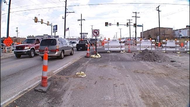 Tulsa Drivers Upset Over Perceived Construction Delays