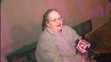 WEB EXTRA: Apartment Resident Talks Describes Fire At Tulsa Apartment Building