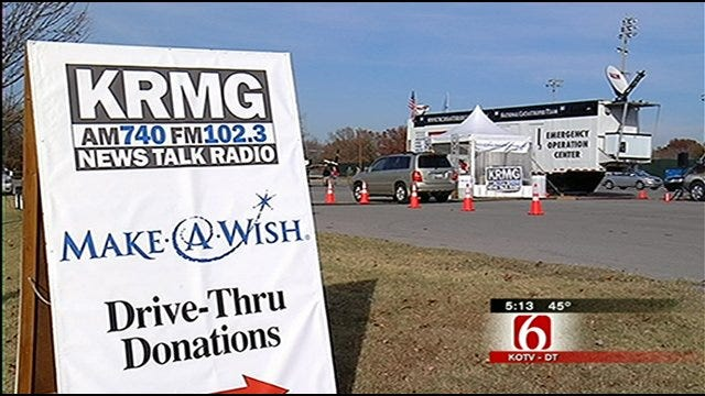 KRMG Disc Jockeys Raise Funds For Oklahoma Make-A-Wish