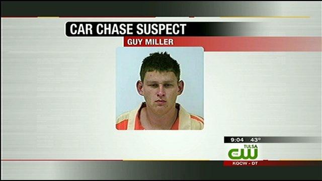 Tulsa Van Theft Suspect Captured After Chase, Manhunt