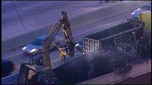 WEB EXTRA: View Of I-44 At Yale From SkyNews 6