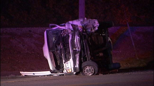 WEB EXTRA: Video From The Scene Of The Crash