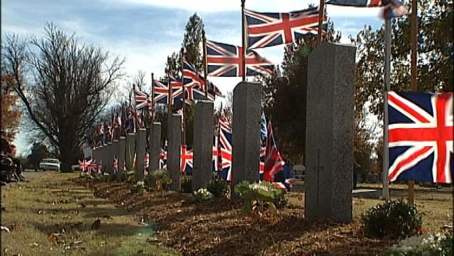 Miami Community Honors WWII British Pilots Killed In Training