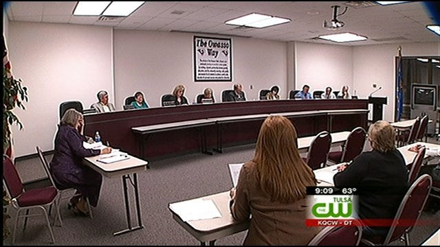 Parents Fight For Special Needs Funding At Owasso School Board Meeting