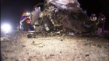 WEB EXTRA: Wrong-Way Driver Kills Claremore Teen