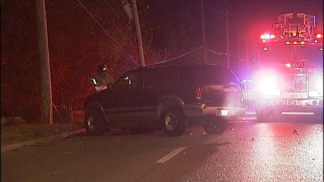 WEB EXTRA: Video From Scene Of Crash On South Harvard
