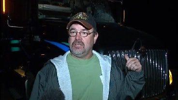 WEB EXTRA: Truck Driver Dennis Kalista Talks About Pumpkin