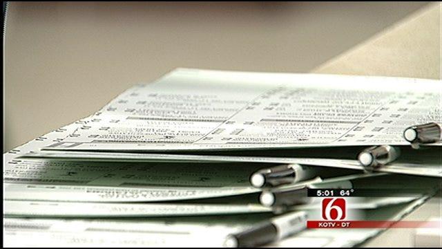 Oklahoma Voters Flock To The Polls