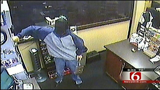 Man Uses Camping Shovel To Rob Tulsa Convenience Store