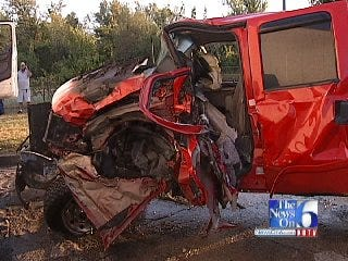 WEB EXTRA: Good Samaritans Save Driver From Fiery Crash