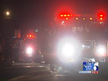 Two Residents Rescued In Tulsa Apartment Arson