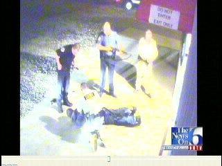 WEB EXTRA: Surveillance Video From Trummel's Drugstore