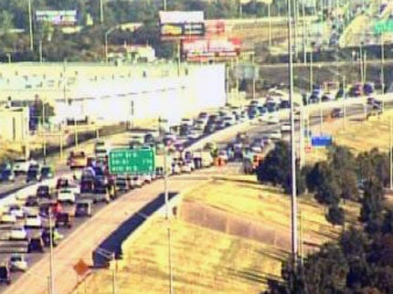 WEB EXTRA: SKYCAM Camera Video Of Traffic On U.S. Highway 169