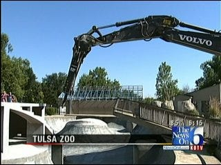 Crews Pave Way For New Helmerich Sea Lion Cove At Tulsa Zoo