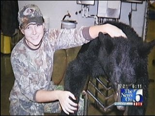 Poteau Teen First Female To Kill Bear In New Hunting Season