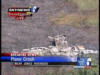 Plane Makes Emergency Landing, Burns Near Jones Riverside Airport